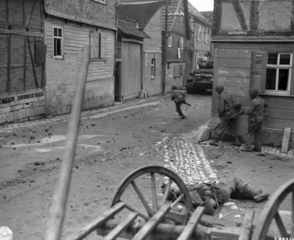US troops 1945 oberdorla