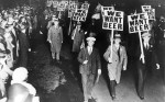 we want beer prohibition march 1931